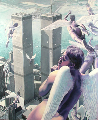 Dominican Artist Miguel Tio's Art for 9-11 Victims
